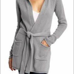 LAmade Hooded Sweater Cardigan